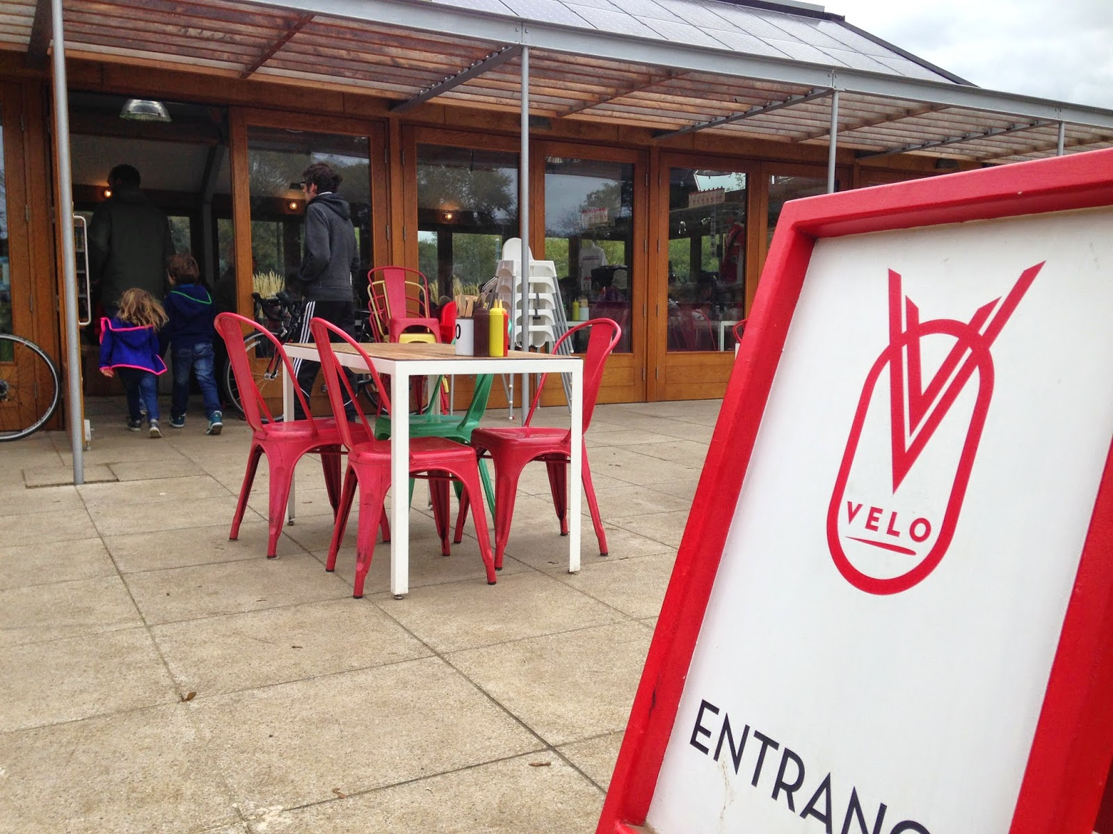 The Velo Cafe, Brighton - cycling