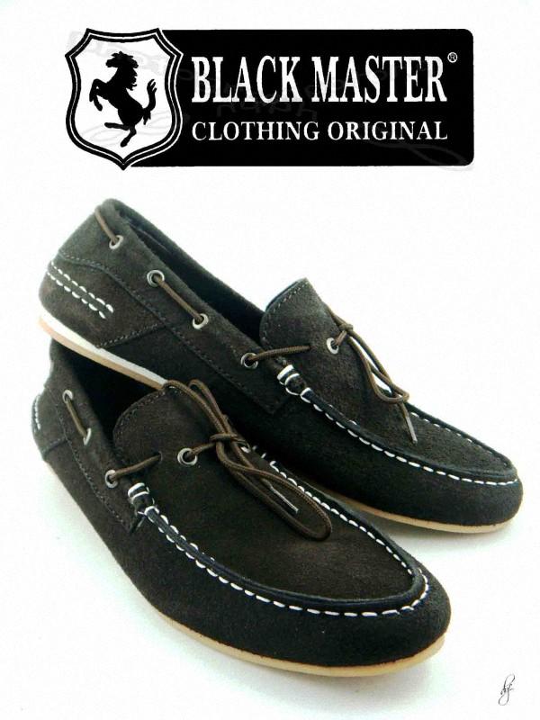 Sepatu Blackmaster Low BM09 hitam