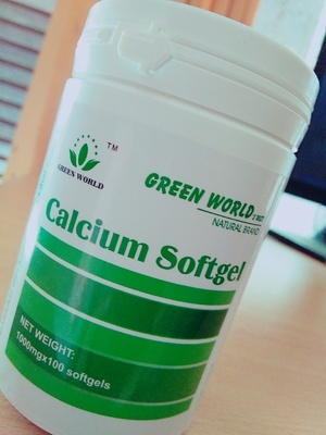 BISNIS GREENWORLD: Kalsium Softgel Greenworld Nutrisi ...