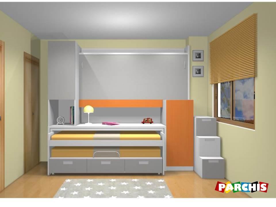 Camas abatibles en madrid camas abatibles toledo camas for Muebles parchis