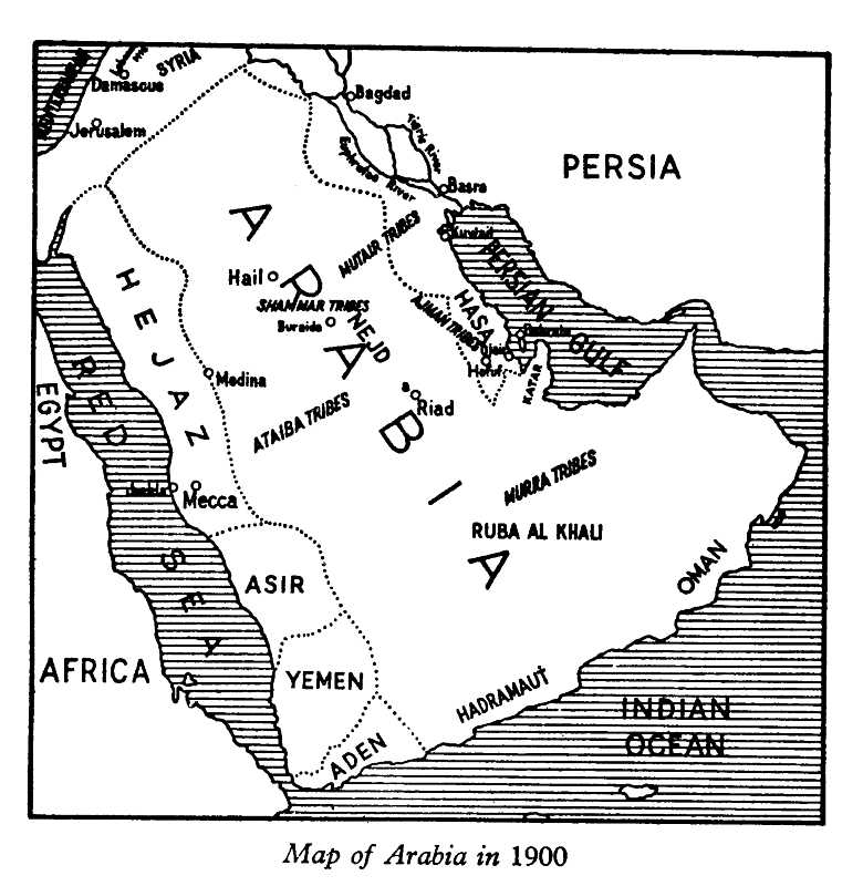 7th Century Maps of Arabia Time of Nabi – Map of Arabia