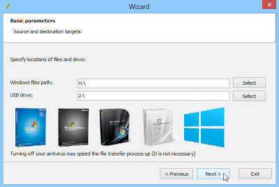 Installing Windows XP From USB Flash Drive - Screenshot