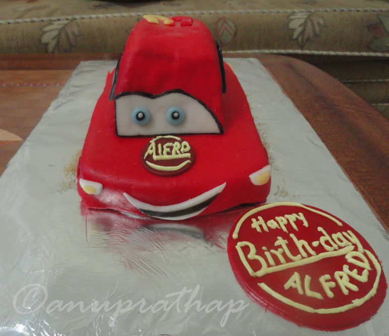 Anu Prathaps Kitchen Cars Cake