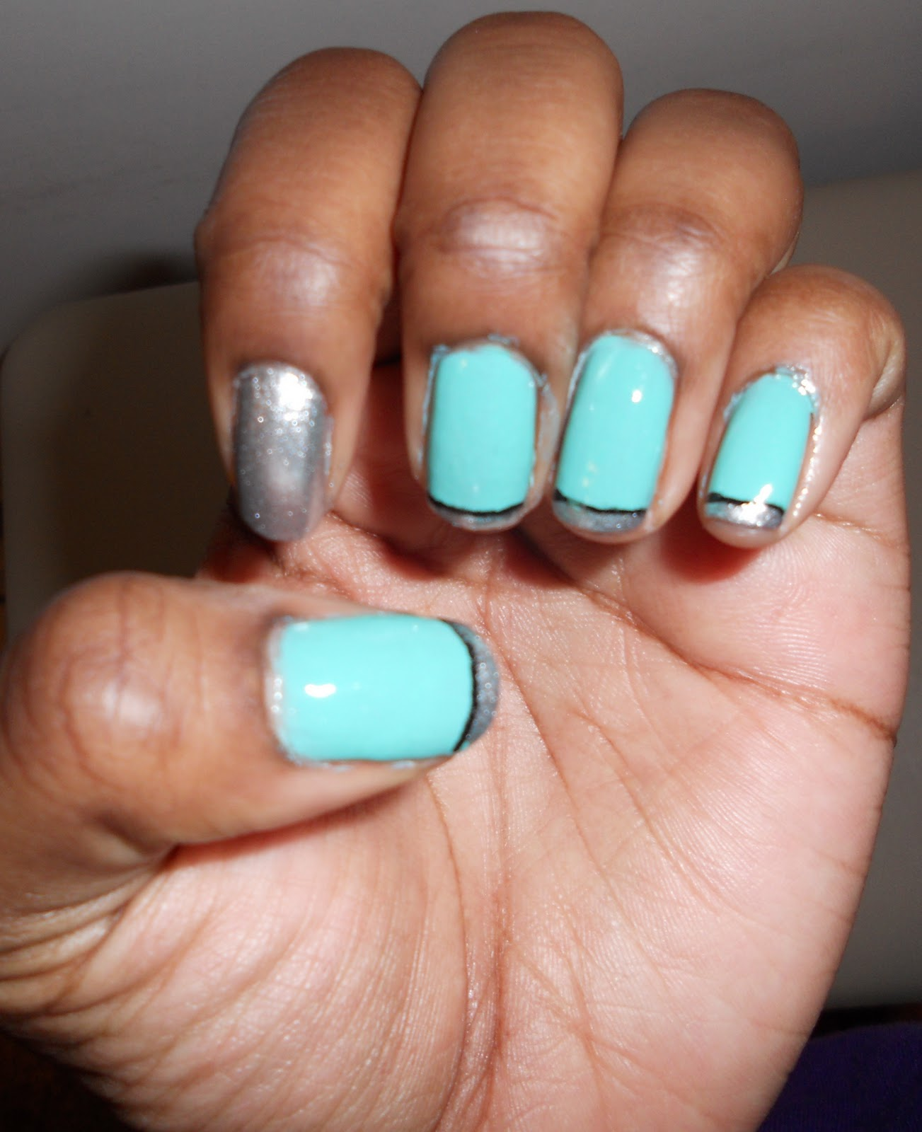 Kinky Curly Quirky: Pretty Nails: An Added Benefit Of Good