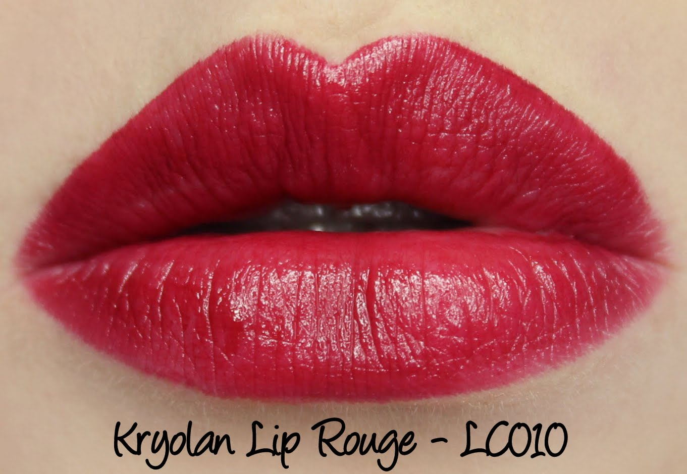 Kryolan Lip Rouge Classic Lipstick LC010 Swatches & Review