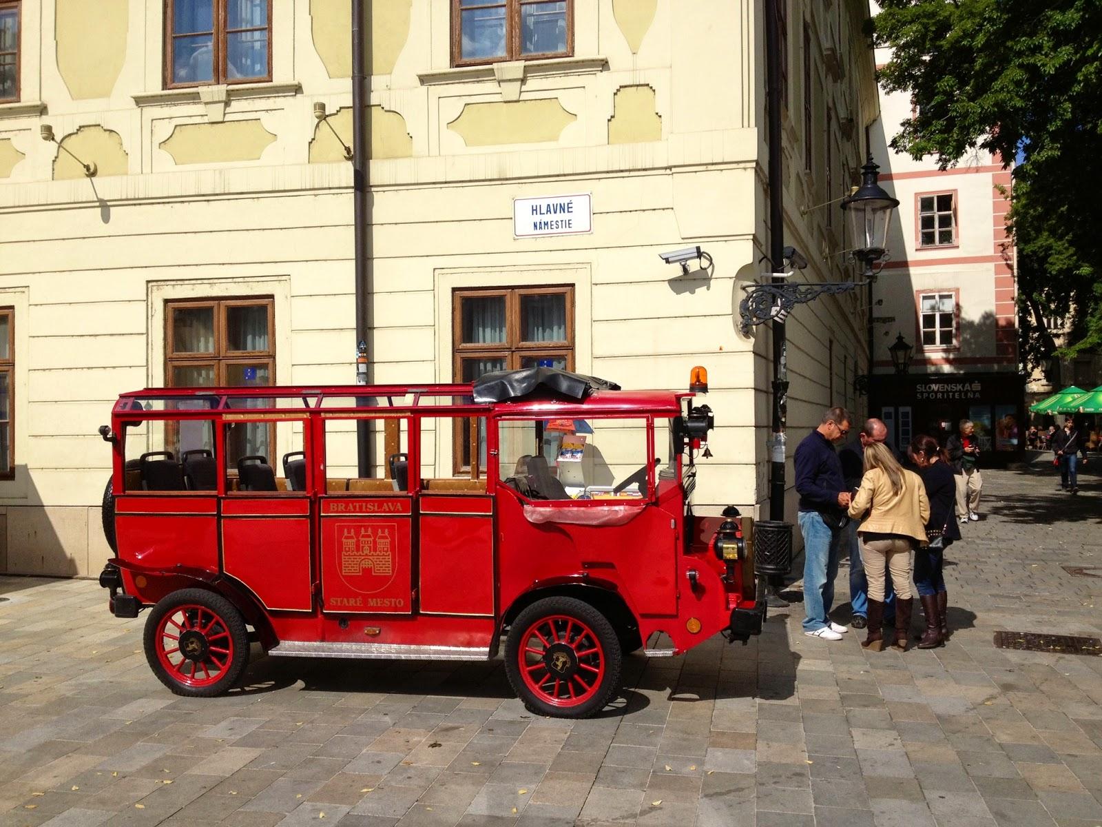 Picture of Hlavní náměstí in Bratislava, Slovakia.