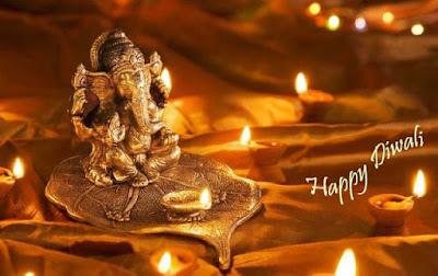 free-wallpaper-of-god-ganesha-for-diwali-dipavali
