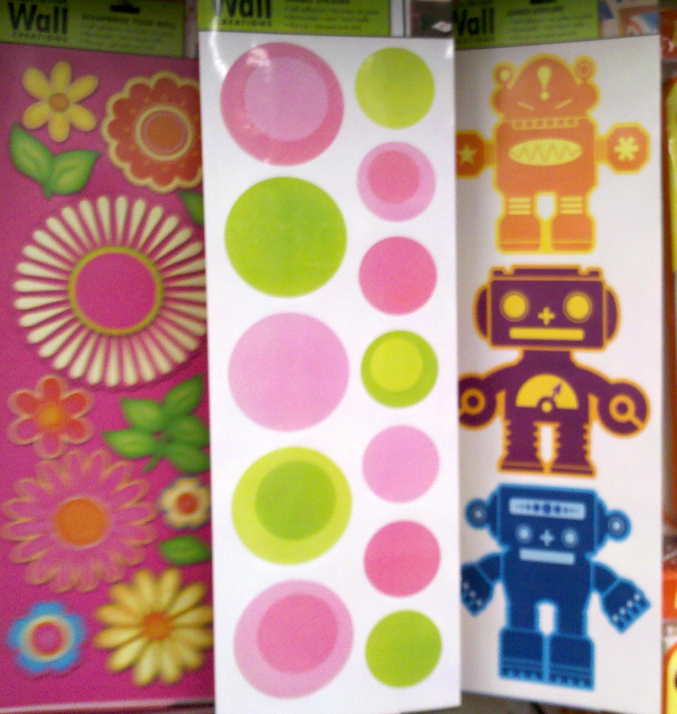 Wall Decor Stickers Dollar Tree : Party frosting ping saturday