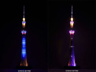 1/700 Scale Tokyo Skytree