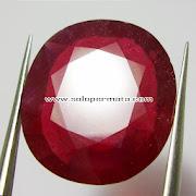 Batu Permata Ruby Pigeon Blood - Kode 17L07