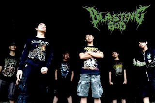 Blasting God Band Slamming Brutal Death Metal Malang Jawa Timur Foto Logo Artwork Wallpaper