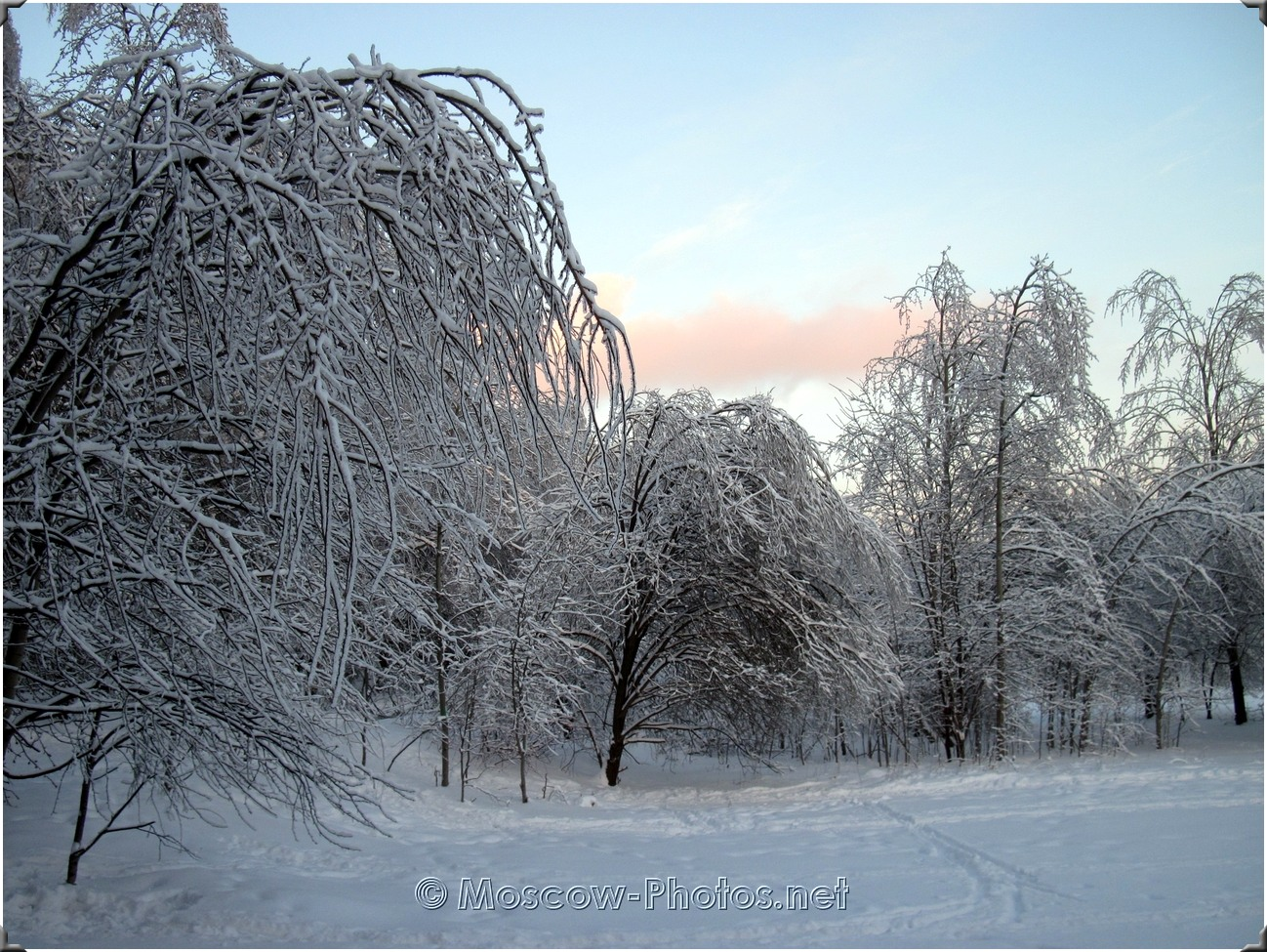 Ice Rain In Moscow