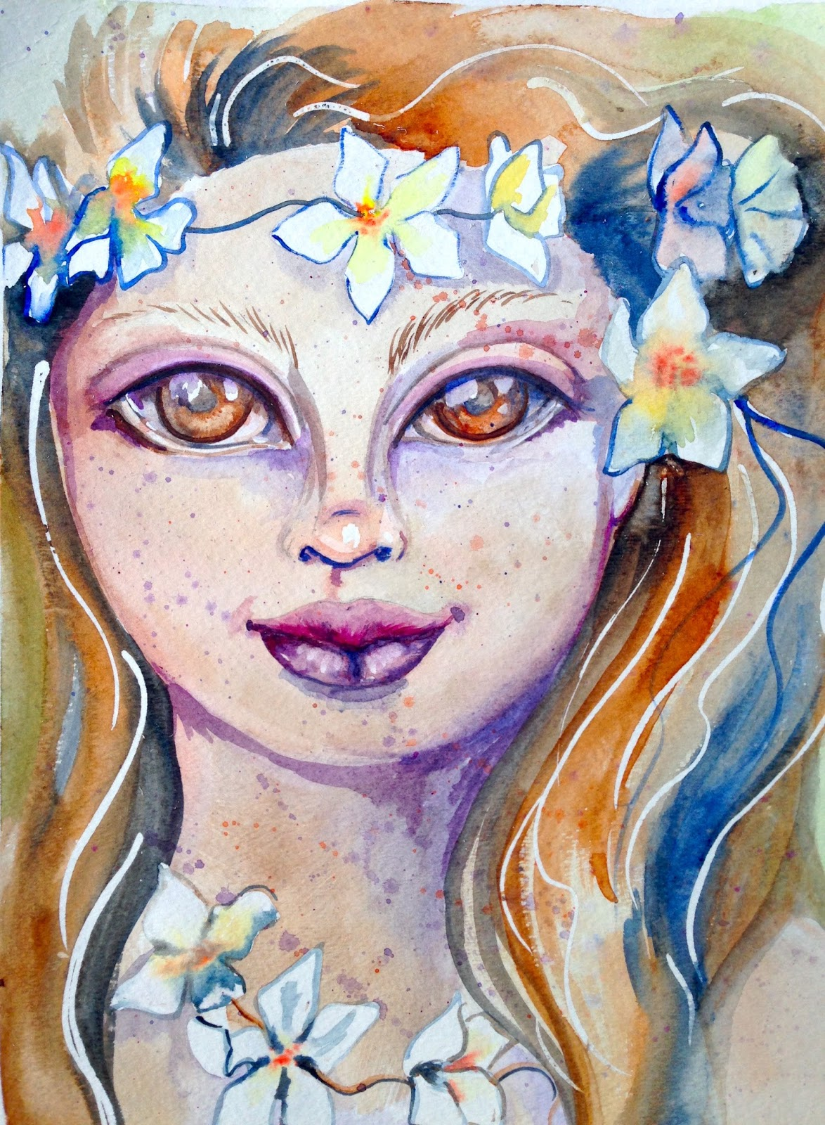 Painting with the Art Sherpa Disney Princess Face Paint