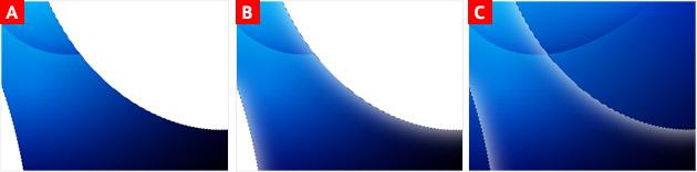 波型のグラデーションを作る② - 6