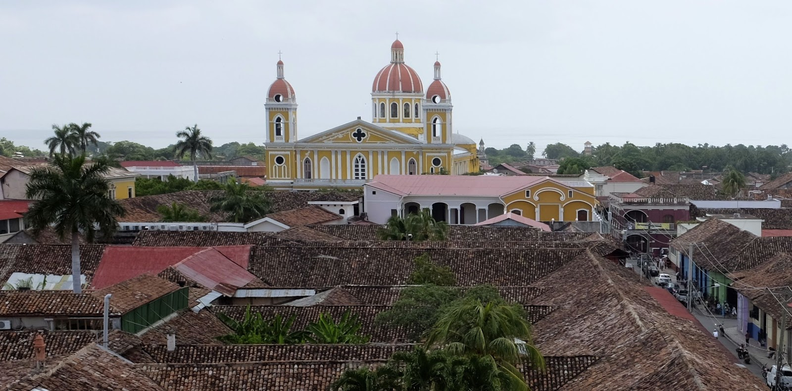 Granada's roofs