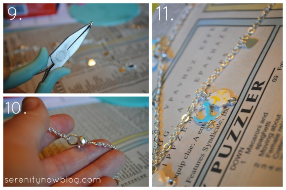 Using Martha Stewart Jewelry, from Serenity Now