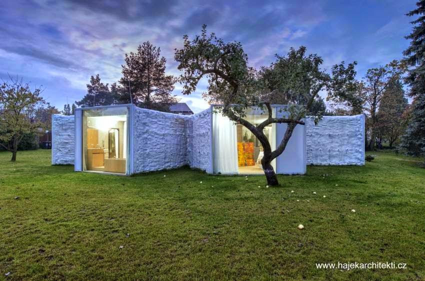Casa Camaleón arquitectura orgánica en Rep. Checa