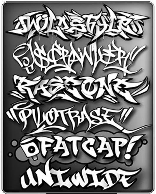 Graffiti Wall Letters 3D