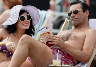 Don Draper, Jon Hamm, Megan Draper, Hawaii, Mad Men, Season 6