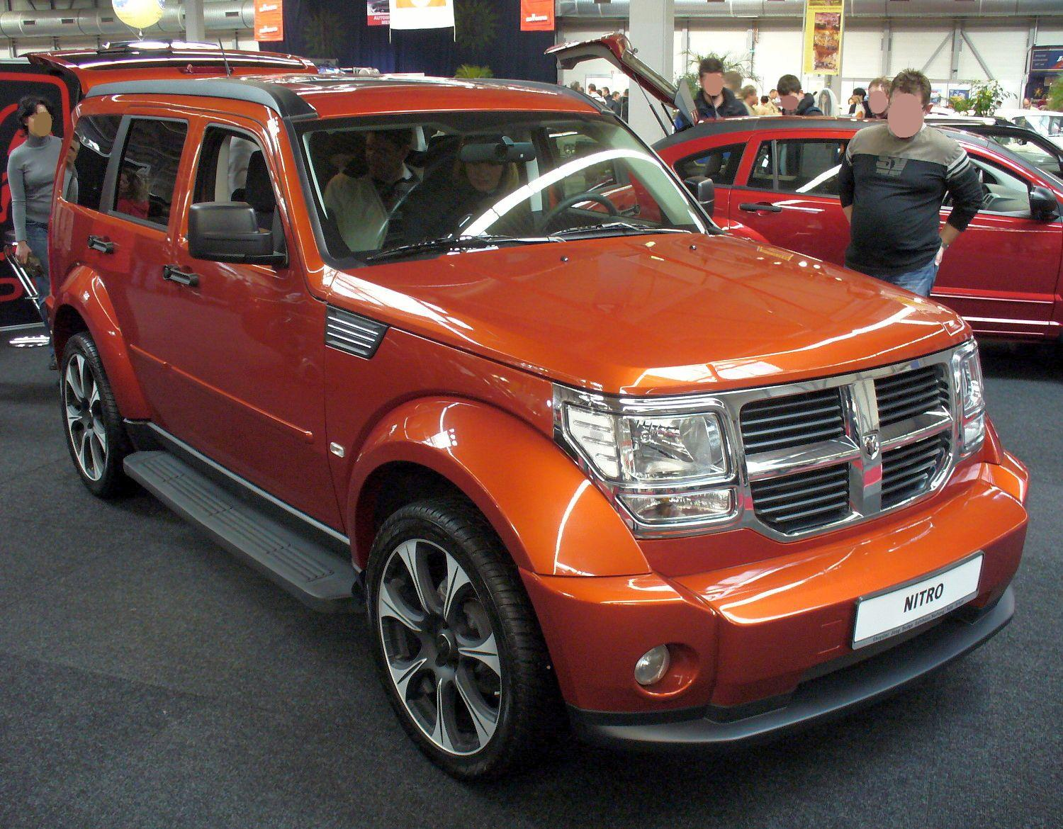 Dodge Nitro Car Wallpapers