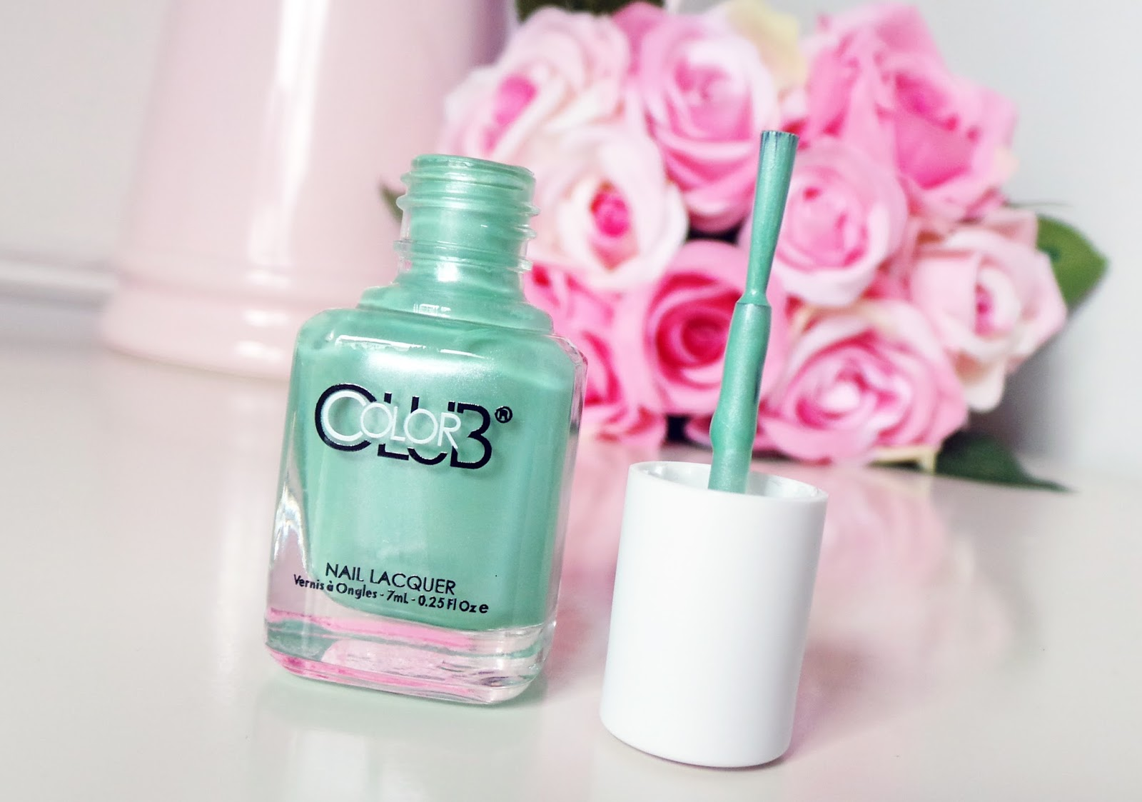 Colour Club Gala's Gems Collection Nail Polish Breakfast at beauty blog review