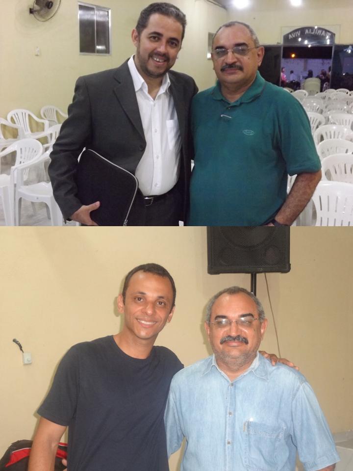 Pastores: Sandro Cruz e Wellington Augusto - Parceiros na Obra do Senhor!