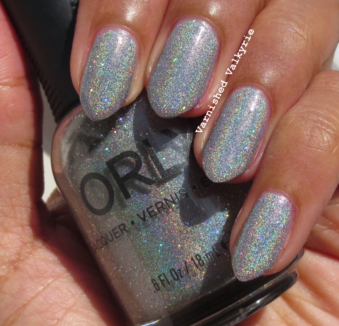 Varnished Valkyrie: Happy New Year!!!!!! - Orly Mirrorball