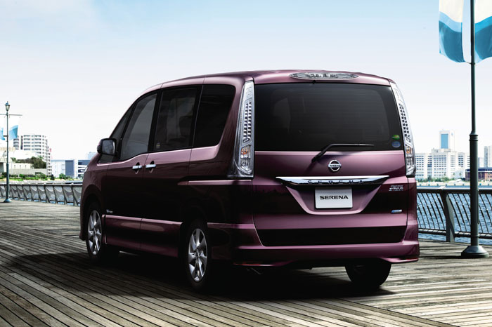 2013 Nissan Serena S-HYBRID Be Marketed