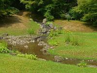 キキョウとオミナエシとハギが咲く鑓水。