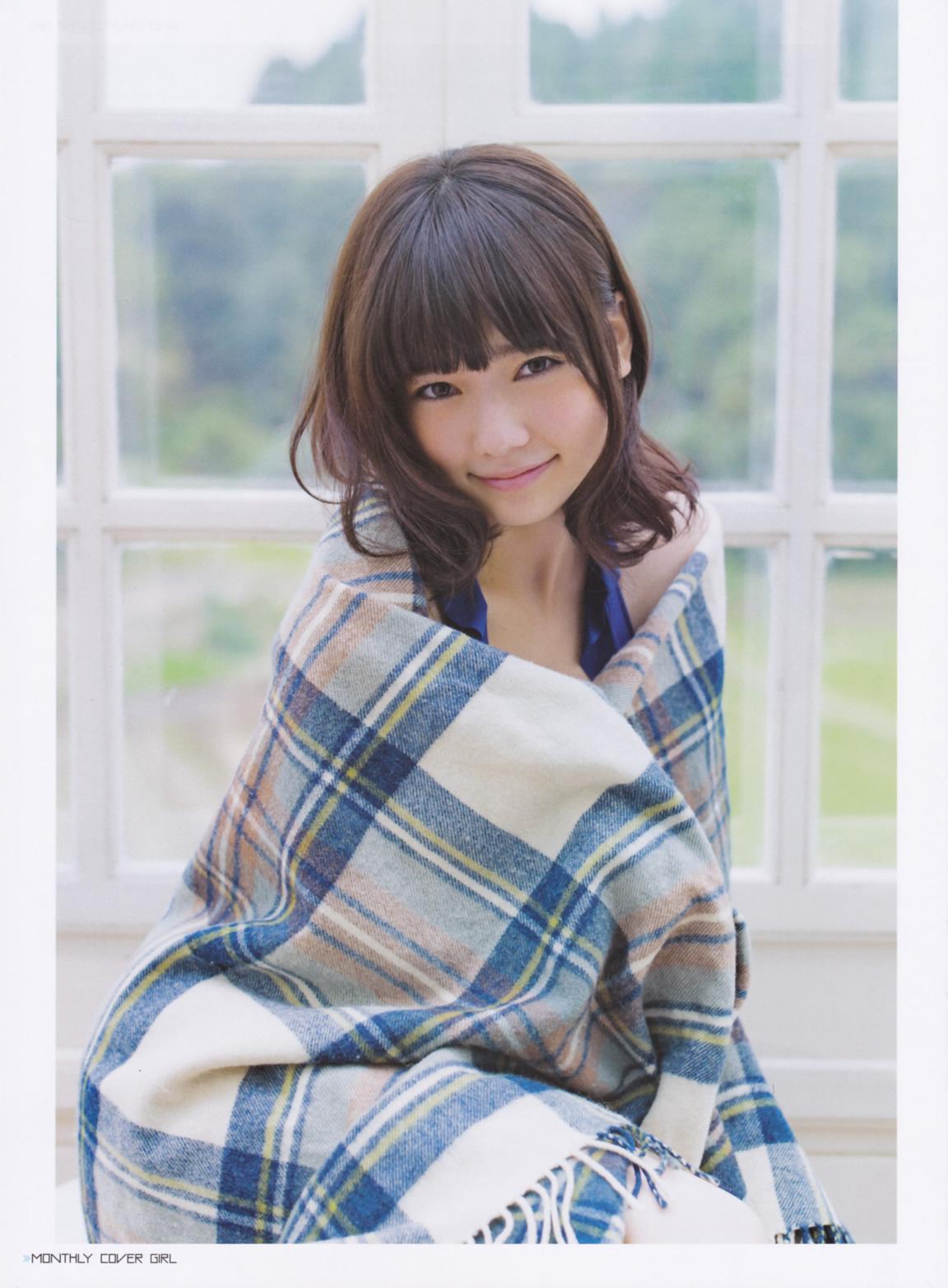 Photoshoot] Shimazaki Haruka in Young Magazine No.25 2014 ...
