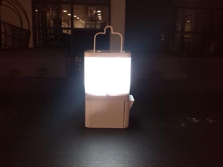 They Created A Special Lamp That Works With Salt Solution Or A Glass Of  Water Combined With Two Tablespoons Of Salt.