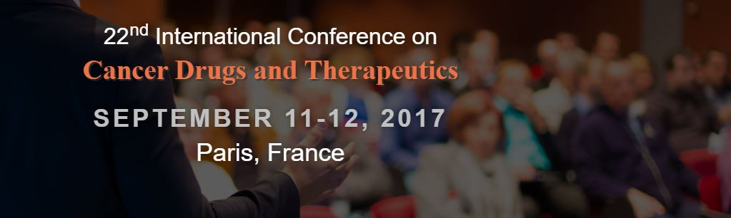 22<sup>nd</sup> International Conference on Cancer Drugs and Therapeutics