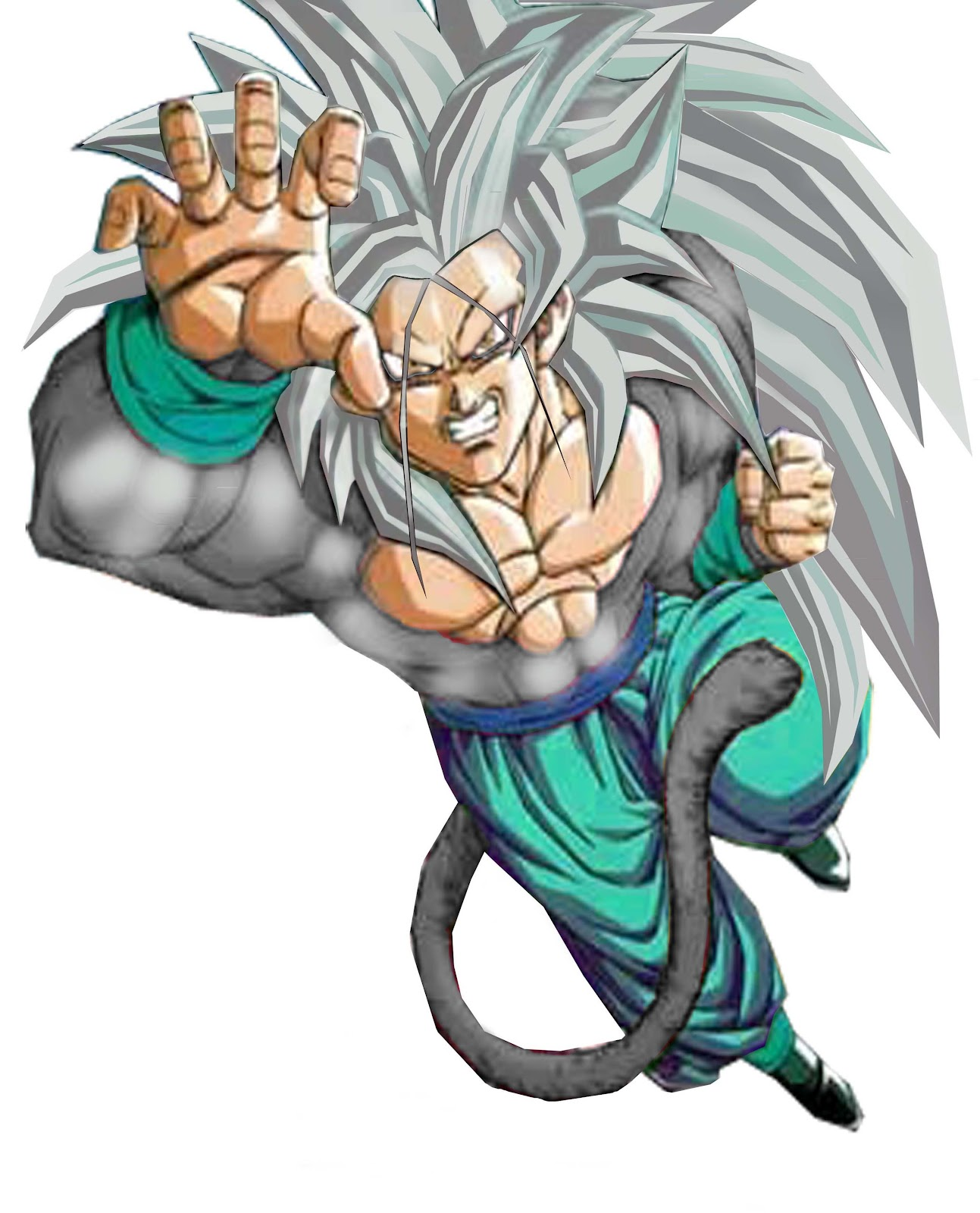Dragon ball z wallpapers gogeta super saiyan 5 - Goku 5 super saiyan ...