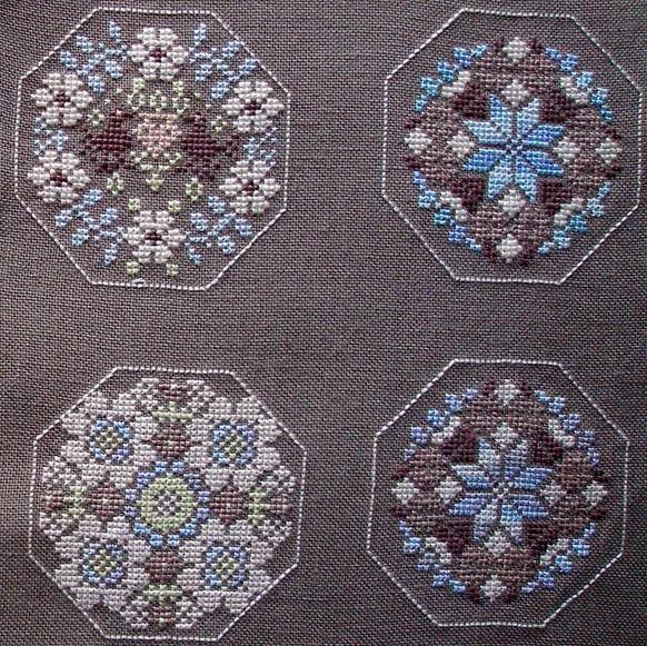 Схема вышивки квакеров 219