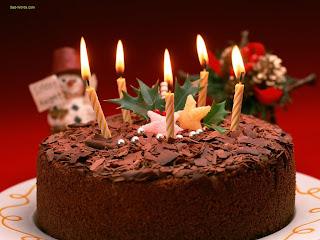 توتة عيد ميلاد 5 شمعات