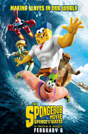 The SpongeBob Movie: Sponge Out of Water - Poster