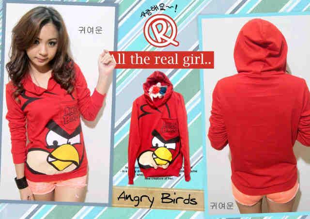 Jual Sweater Angrybird Hoodie