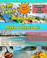 Gran Tours Dolphins Park & Playa Guayacanes.