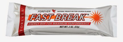 FAST BREAK SNACK GUSTOSO E SALUTARE FOREVER