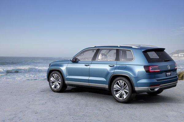 Семиместный внедорожник Volkswagen CrossBlue
