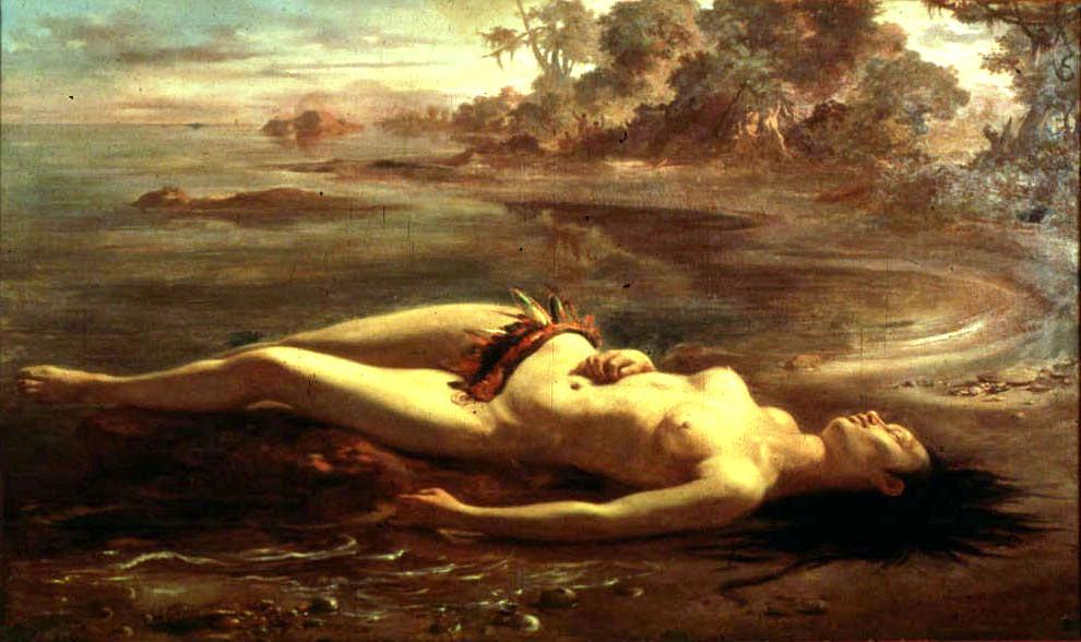 Les oeuvres picturales que vous aimez MASP+-+VICTOR+MEIRELLES+-+Moema