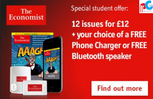 Promo Gift for The Economist Readers