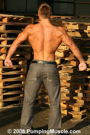 Picture About Muscle Model and Bodybuilder Doug Peaney