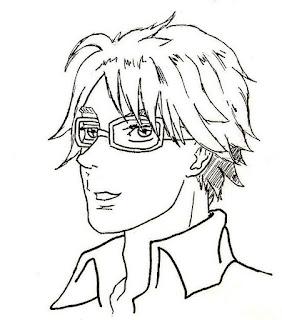 Portrait manga 2 - par Juju Gribouille