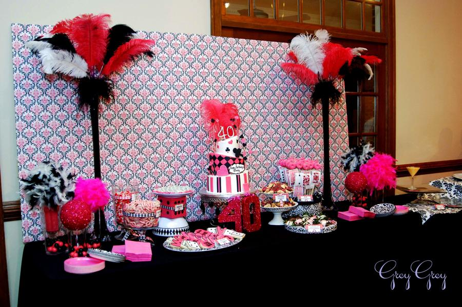 Laine Design 21st Casino Theme Birthday Party