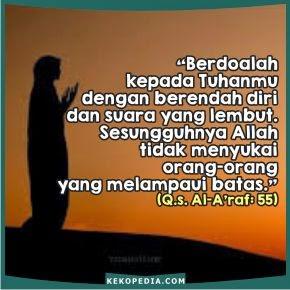 Dp BBM Islami Tentang Hadist Nabi Muhammad Perihal Berdoa