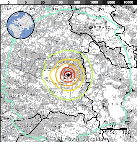 Gempa Bumi Dahsyat Di Turki Berukuran 7.2 Skala Richter