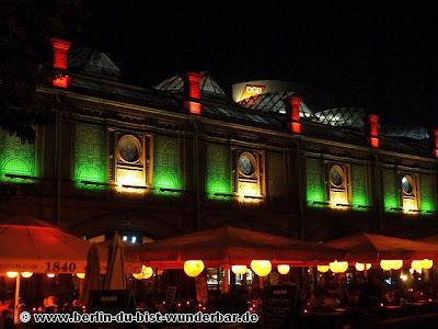 Fetival of lights, berlin, illumination, 2012, s-bahnhof hackescher