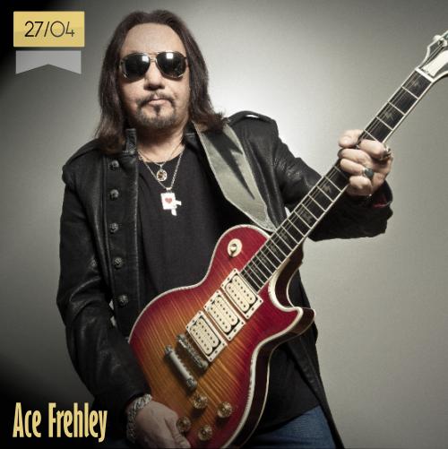 27 de abril | Ace Frehley - @ace_frehley | Info + vídeos
