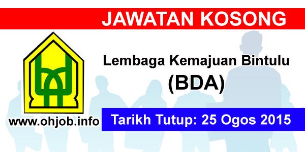 Jawatan Kerja Kosong Lembaga Kemajuan Bintulu (BDA) logo www.ohjob.info ogos 2015